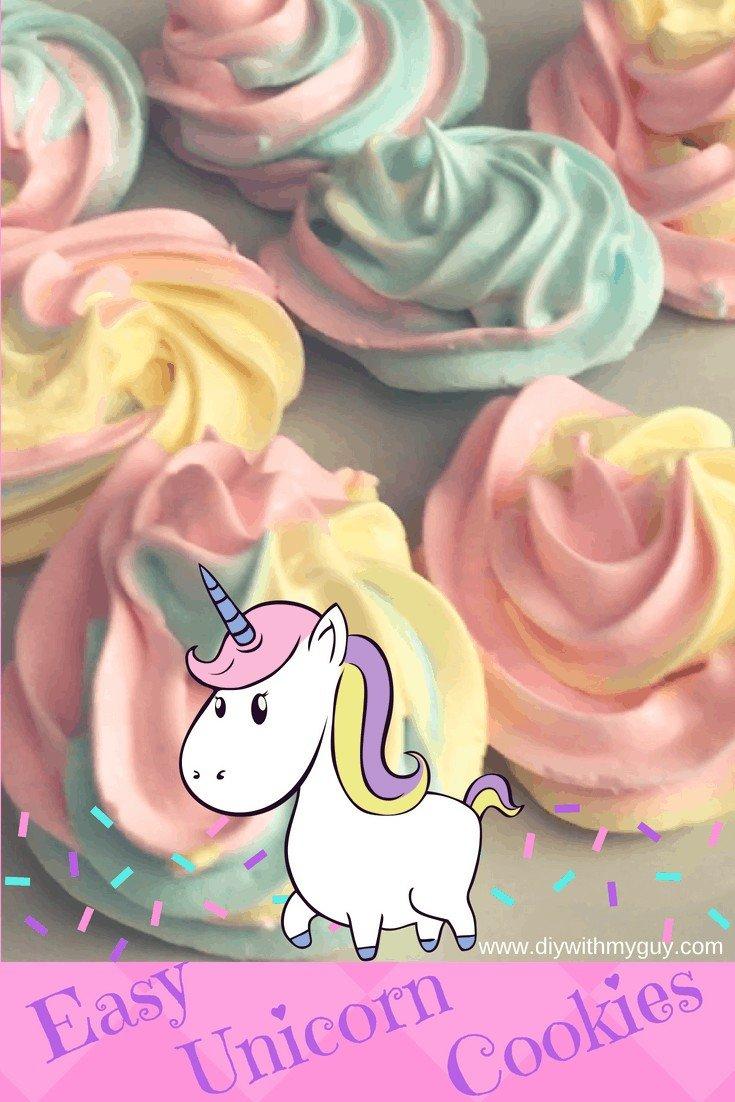 Unicorn cookies unicorn poop