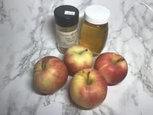 Immune-boosting baked apples