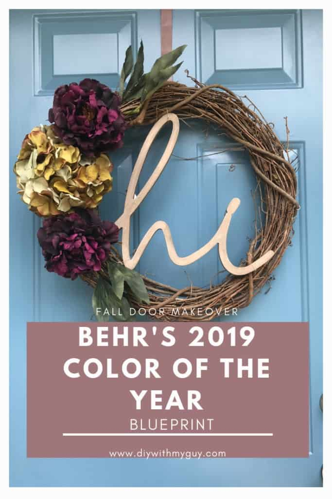 Behr 2019 color of the year blueprint