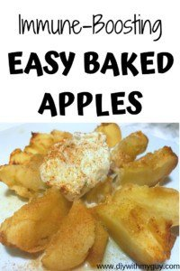 Immune Boosting Easy Baked Apples