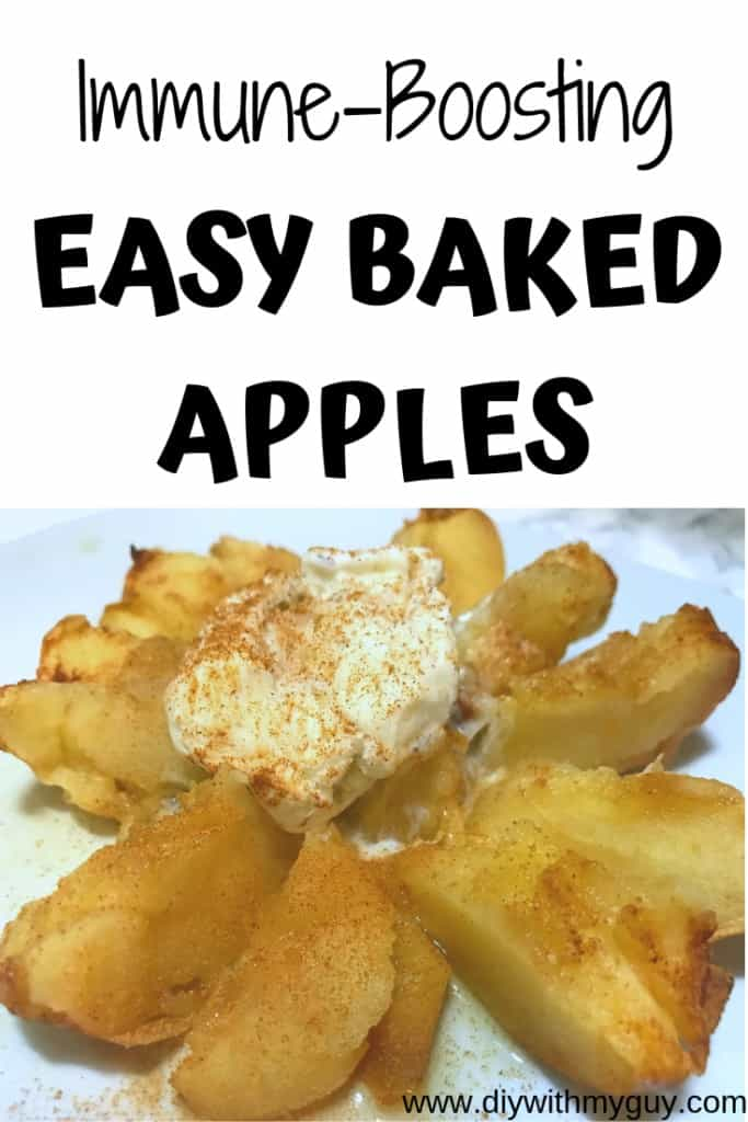 Immune Boosting Easy Baked Apples