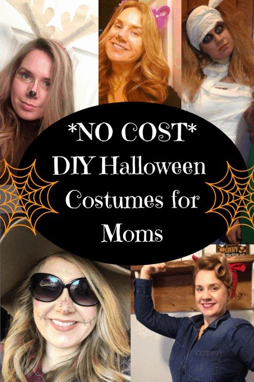 Cheap DIY Halloween Costumes