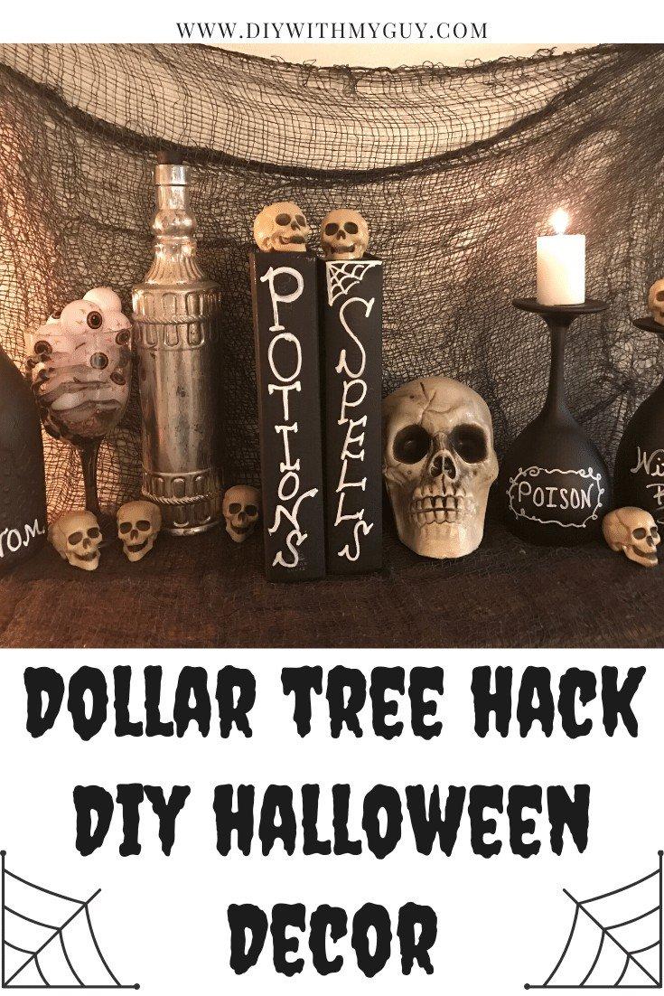 Cheap DIY Halloween Decor