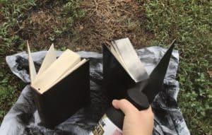 Cheap DIY Halloween Spellbooks