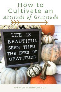 How to have an attitude of gratitude