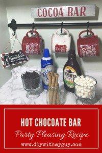 Best hot chocolate bar recipe