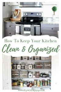 How to Keep Kitchen Clean and Organized