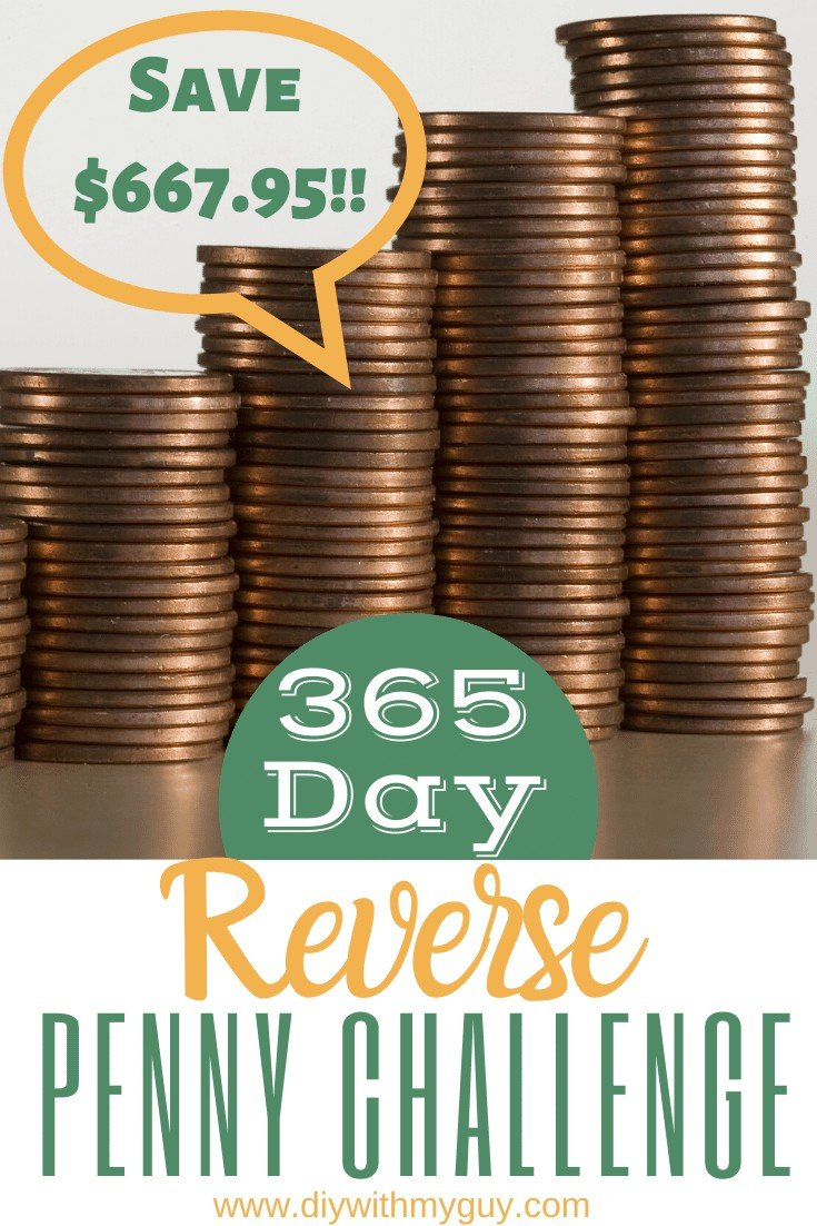 365 Penny Challenge Reversed