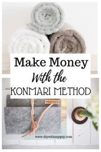 Make Money with the KonMari Method. Marie Kondo Method