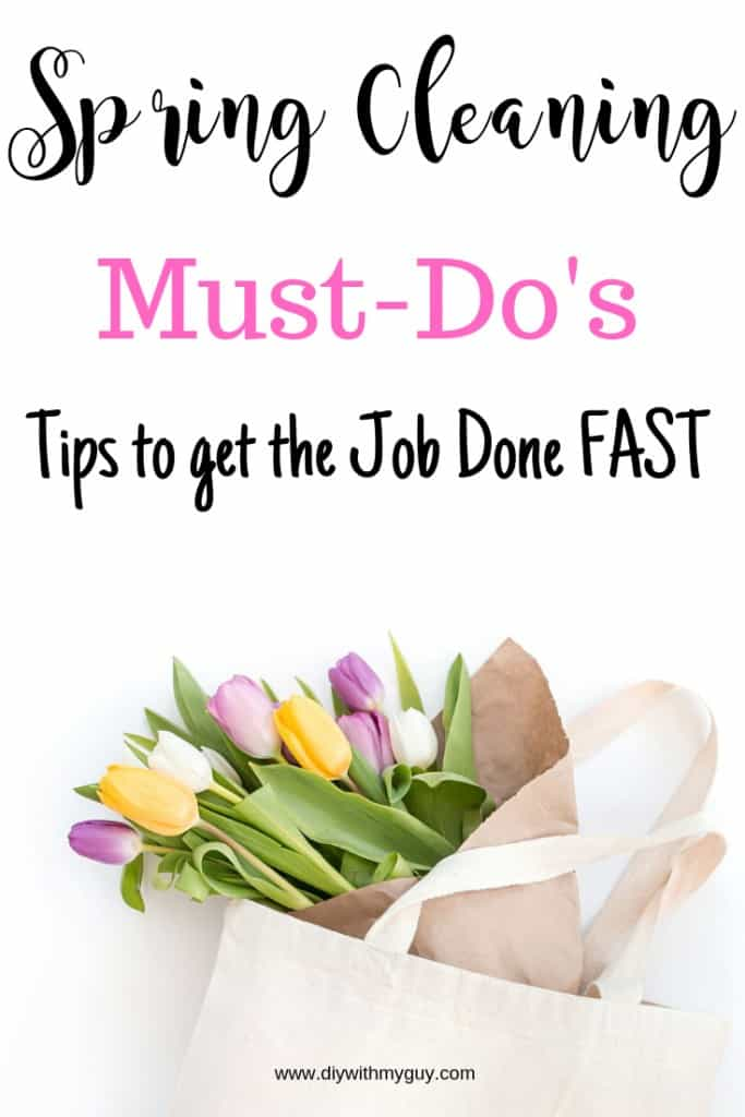 Spring Cleaning list must do's. Spring cleaning checklist