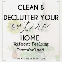 Motivated To Clean When Overwhelmed