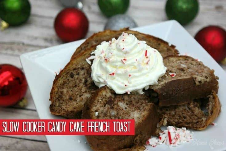Slow Cooker Candy Cane French Toast Recipe