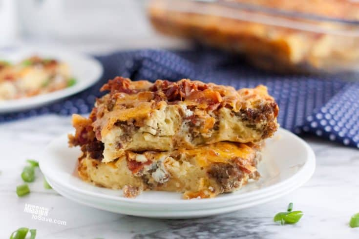 Classic Holiday Brunch Casserole Recipe - Mission