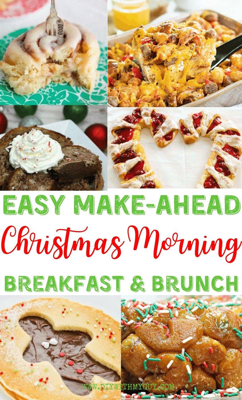 Qucik Christmas Breakfast Ideas