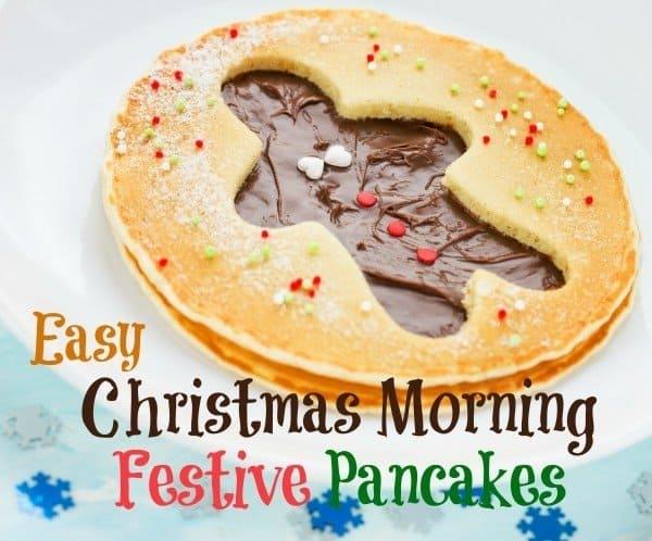 Christmas Morning Gingerbread Pancakes