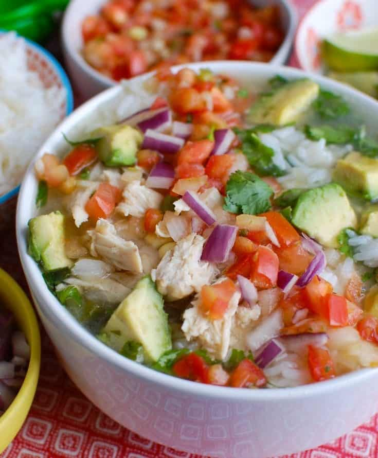 Slow Cooker Mexican Chicken Lime Soup Recipe