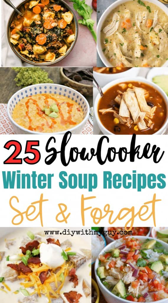 Crock Pot Soup Recipes For Winter