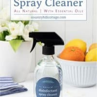 DIY Disinfectant Spray – Natural Homemade Disinfecting Spray