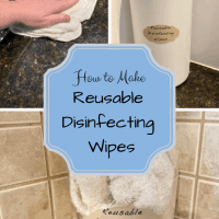 How to Make Reusable Disinfecting Wipes