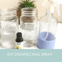 DIY Disinfectant Spray - Toxin Free