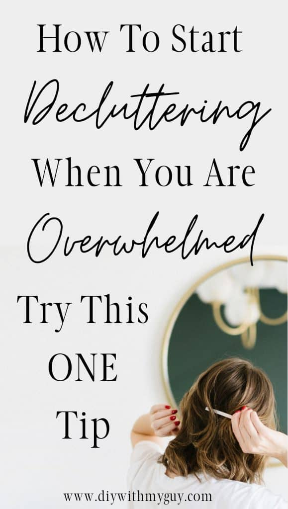 Clean When Overwhelmed By The Mess