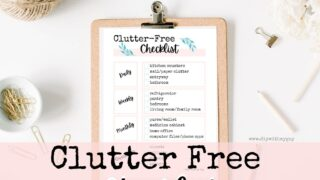 Clutter Free Checklist