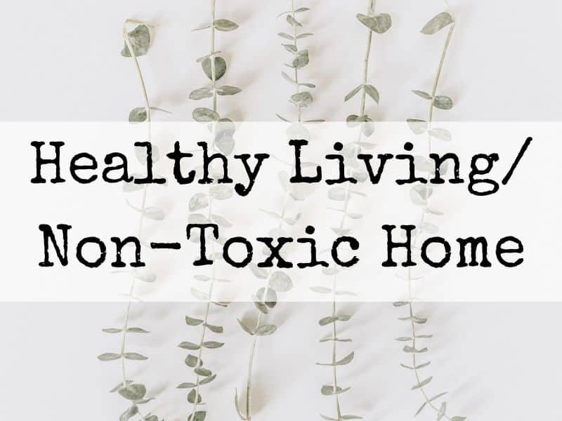 Non toxic home