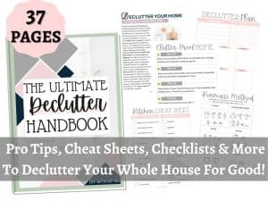 The Ultimate Declutter Handbook