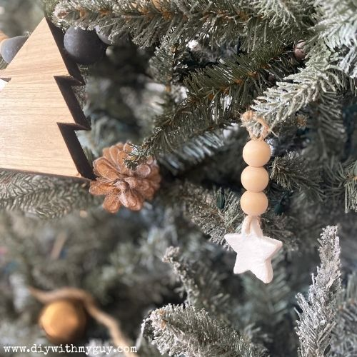 DIY Shooting Star Ornaments