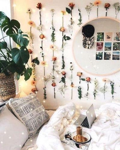 Aesthetic Dorm Room Boho Theme