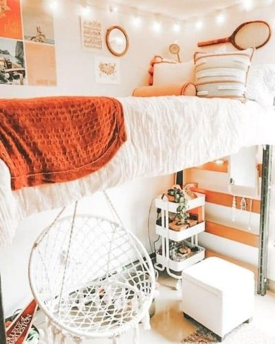 aesthetic dorm room bohemian