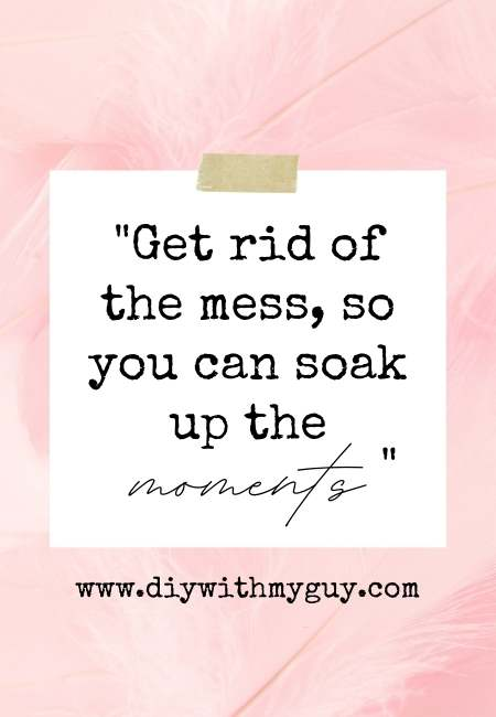 Overwhelmed by clutter quotes
