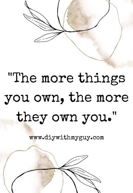 decluttering quotes motivational