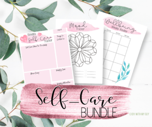 Self Care Organizer