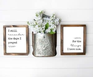 I still remember the days I prayed for what I have now printable