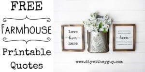 free farmhouse printable quotes