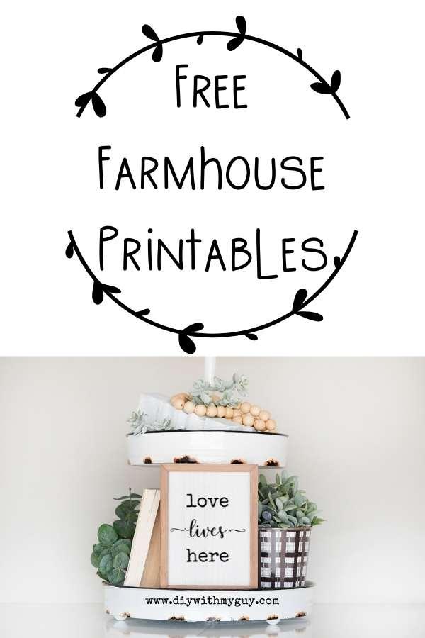 free farmhouse printables